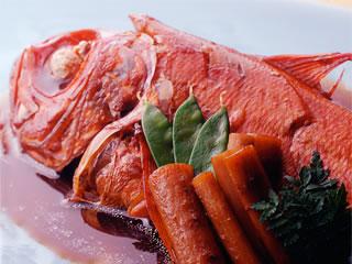 下田大和館の金目鯛の煮付