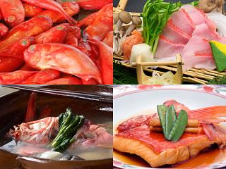 下田大和館の金目鯛料理