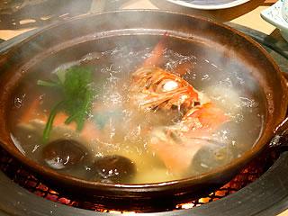 金目鯛の塩炊